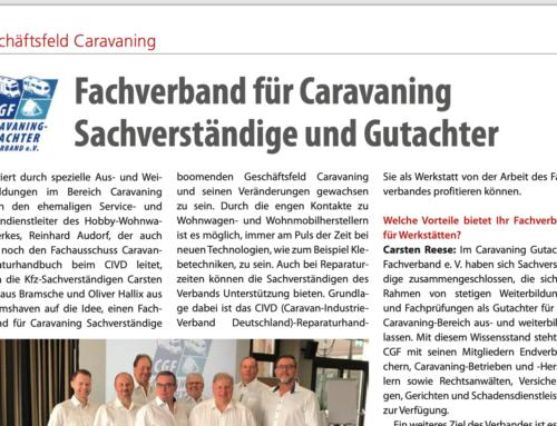 Lack & Karosserie berichtet über CGF